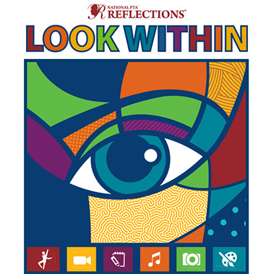 Reflections Logo with 2019-2020 theme Look Within